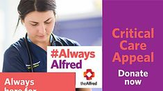 There has never been a more critical time to support The Alfred. Donate Now