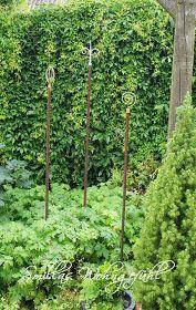 Gartendeko gartenstecker selber machen