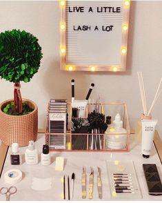 esthetics room set up / esthetics room ; esthetics room at home ; esthetics room set up ; Home Beauty Salon, Beauty Salon Decor, Home Salon, Makeup Studio Decor, Beauty Salon Interior, Beauty Studio, Beauty Bar, Eyelash Studio, Eyelash Salon