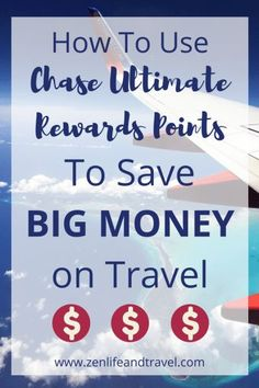 How To Use Chase Ultimate Rewards Points | Credit Card Points | How To Save Money On Travel | #chaseultimaterewardspoints #savemoney #moneysavingtips #creditcardpoints