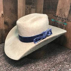 1e790c8ca8e8f Belgium Belly Shag with Denim Velvet  warbonnet  hataholics  westernfashion   happyfriday Hat World
