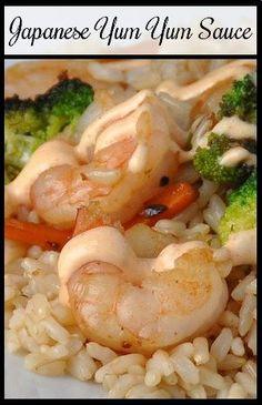 Japanese Yum Yum Sauce (Shrimp Sauce)