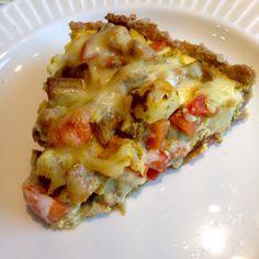 Grov restepai med kjøtt og grønnsaker Lasagna, Ethnic Recipes, Food, Lasagne, Hoods, Meals