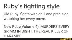 """She's like the definition of """"anger coping"""" and it makes me sad. my lil baby"""