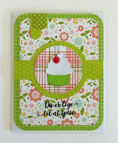 Card cake cupcake ice cream cake muffin cherry on top MFT Sweet treats Die-namics, MFT Blueprints 31 Die-namics MFT Graphic grid paper pad #mftstamps Echo Park Bundle of Joy - Girl - new addition - paper pad, sentiment stamp Three scoops - JKE
