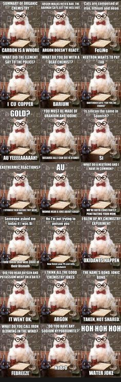 28 Ideas Science Humor Memes Chemistry Cat For 2019 Puns Jokes, Nerd Jokes, Nerd Humor, Funny Puns, Memes Humor, Cat Puns, Hilarious, Science Cat, Science Chemistry