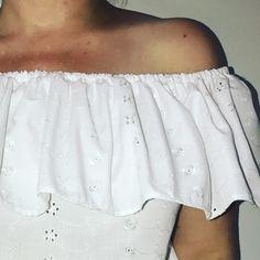 Coudre un Top Bardot - T-shirt à Volant - Tuto Couture DIY - Viny DIY, le blog de tuto couture & DIY.