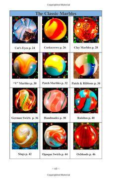 vintage Types marbles of