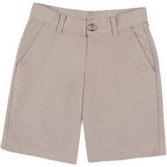 George School Uniform Boys Performance Shorts, Online Exclusive, Size: 14, Beige