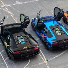 Visit The MACHINE Shop Café... ❤ The Best of Lamborghini... ❤ (V12★Lamborghini Murciélago's)