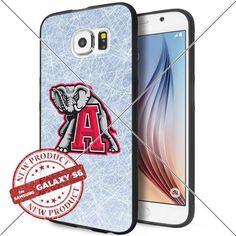 NEW Alabama Crimson Tide Logo NCAA #1004 Samsung Galaxy S6 Black Case Smartphone Case Cover Collector TPU Rubber original by WADE CASE [Ice] WADE CASE http://www.amazon.com/dp/B017KVOKH0/ref=cm_sw_r_pi_dp_HJjywb1RGSC9X