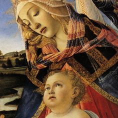 Madonna of the Magnificat, Sandro Botticelli.