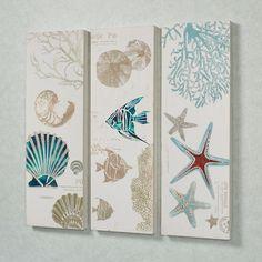 Jewels of the Ocean Wall Art Set