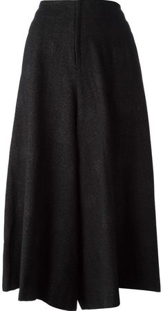 $2,297, Yohji Yamamoto Back Pleats Pant. Sold by farfetch.com. Click for more info: https://lookastic.com/women/shop_items/78480/redirect