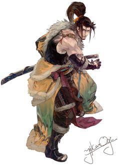 Hien from Final Fantasy XIV: Stormblood