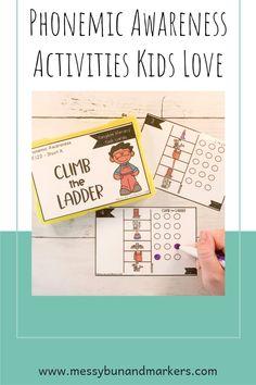 Phonemic Awareness Activities Kids Love