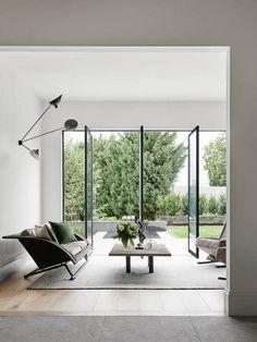 Interiors   A Stylishly Modern Home   Dust Jacket   Bloglovin'