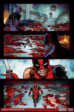 Get a pre-mortem on the finale of Deadpool Kills Deadpool from Cullen Bunn, plus exclusive Salva Espin preview art here! What has been your favorite Deadpool kill? http://marvel.com/news/story/21274/closing_the_lid_on_deadpool_kills_deadpool