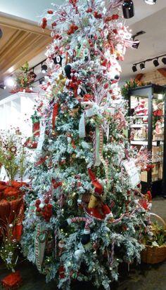 The Ho-Ho-Ho tree. It's too tall for the camera!
