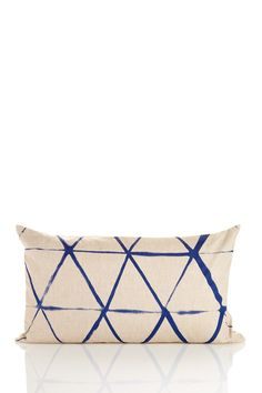 Stripe Print Pillow - Blue Sponsored by Nordstrom Rack