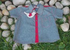 Camisa social infantil $70.00