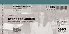 Neues von Kartendesign Berlin: eine kreative Einladungskarte zur Konfirmation und auch zur Jugendweihe