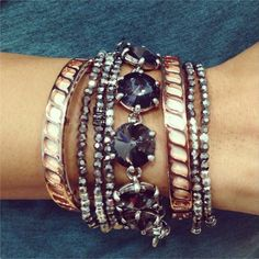 Say hello to the Inspire Bracelet! All net proceeds benefit the Noreen Fraser Foundation. #stelladotstyle