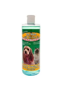 NaturVet Ear Wash with Tea Tree Oil 16 Ounce -- This is an Amazon Affiliate link. You can get more details by clicking on the image.