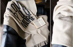 LOVE YOU MORE Throw Blanket from Decor Steals (One deal a day)~Enjoy Today's Steal from DECOR STEALS