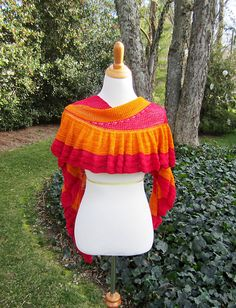Mountain Colors Winter Lace  Ravelry: Olivias Wrap pattern by Julie Blagojevich