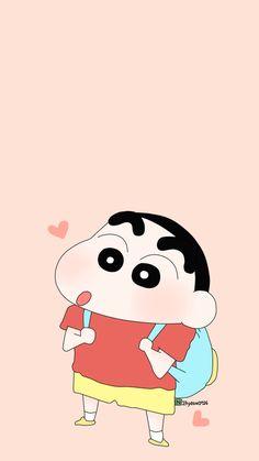 Wallpaper Cartoon Shinchan Ideas For 2019 Sinchan Wallpaper, Cartoon Wallpaper Iphone, Cute Wallpaper Backgrounds, Cute Cartoon Wallpapers, Disney Wallpaper, Locked Wallpaper, Couple Wallpaper, Sinchan Cartoon, Doraemon Cartoon