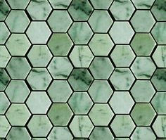 green hex tile - Google Search