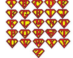 superman logo with different letters superman and wonder woman rh pinterest com superman logo with different letters download create superman logo with different letters