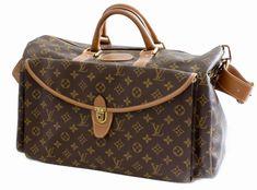 d49d96e9d2eb Louis Vuitton Large Monogram Duffel Bag Overnight Travel Keepall Rare  French Co. 1stdibs.com
