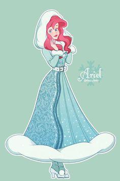 The Little Mermaid Disney Princess Fashion, Disney Princess Ariel, Princess Art, Disney Princesses, Princess Luna, Cute Disney, Disney Girls, Disney And Dreamworks, Disney Pixar