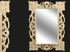 ... stile barocco, provenzale e shabby chic on Pinterest Baroque mirror