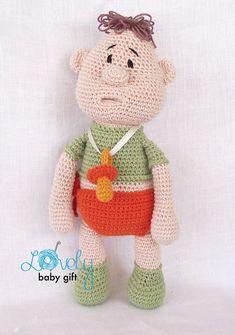 Amigurumi Pattern Doll Crochet Pattern Baby Doll por LovelyBabyGift