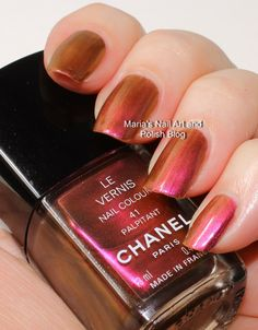 Chanel Palpitant 41 vintage swatches