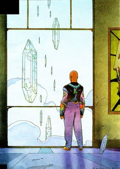 Crystal Saga #22 by Moebius