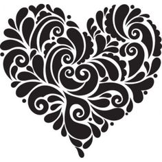 ...heart doodle.. not zen but, inspirational for doodling anyway