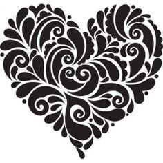 ...heart doodle.. not zen but, inspirational for doodling anyway