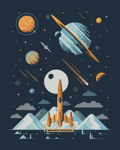 Europa+art+print+by+DKNG (1000×1250)
