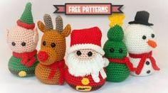 Bertorulez: Patrones amigurumis navideños gratuitos. Navidad