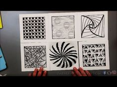 6 Optical Illusion Drawing Techniques and Patterns