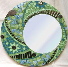 Lovely #mosaic #mirror #art