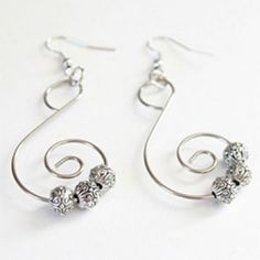 Silver(Ish) Earrings