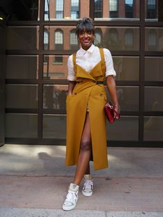 Facehunter: NYFW - Beagy, this is hella cute!