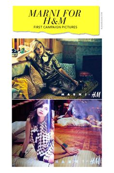 Marni for H&M Campaign with Imogen Poot