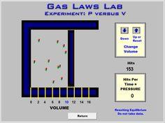 Gas laws lab essay