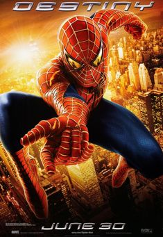 Spider-man 2 Movie Poster by BLT Communications, LLC (2004)